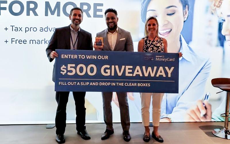 Orlando Walmart MoneyCard winner