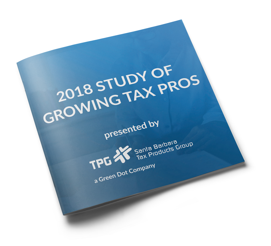 TPG Study of Growing Tax Pros
