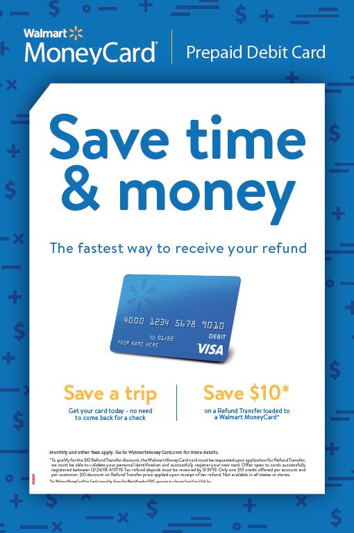 Walmart MoneyCard Poster