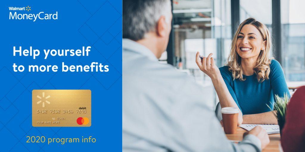 Walmart MoneyCard Header