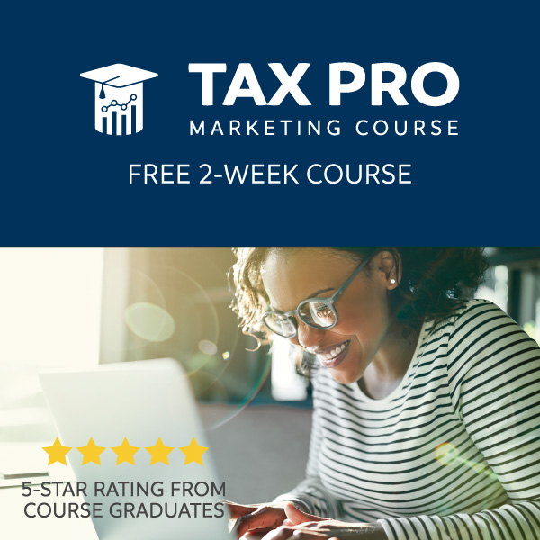 Tax Pro Marketing Course