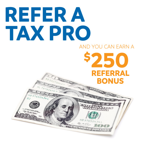 Refer a tax pro