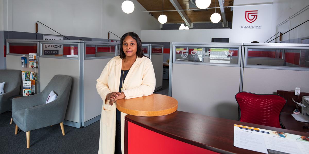 Karyn Chapman in new office
