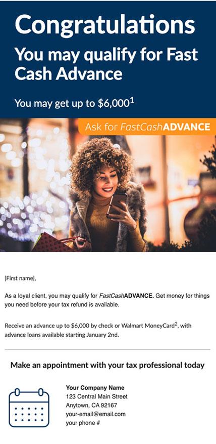 FCA promo email #2