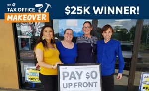 $25,000 Tax Office Makeover winner