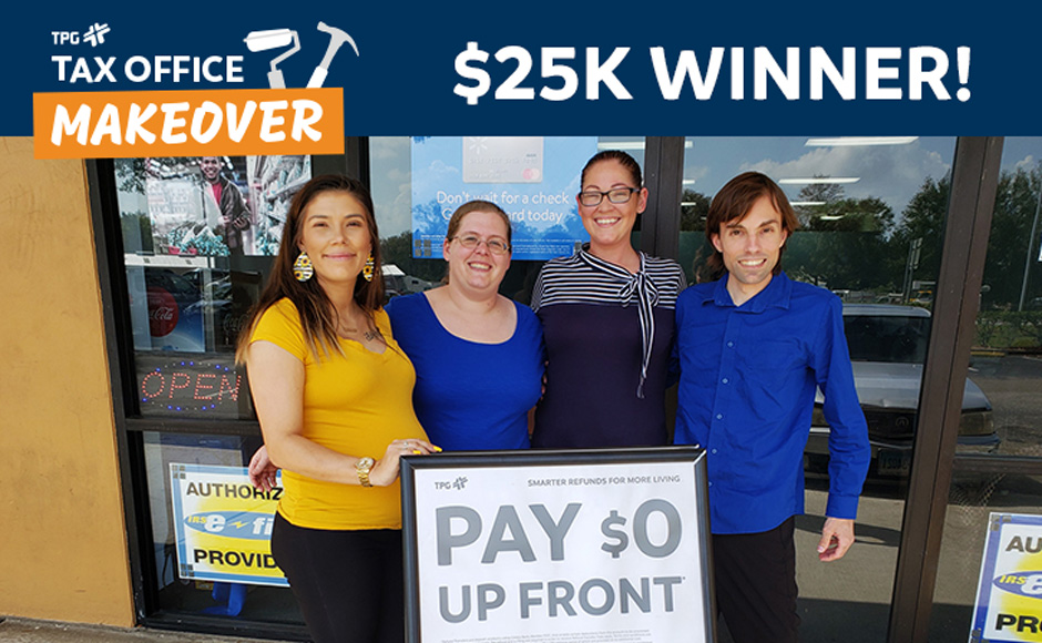 $25,000 Tax Office Makeover winner