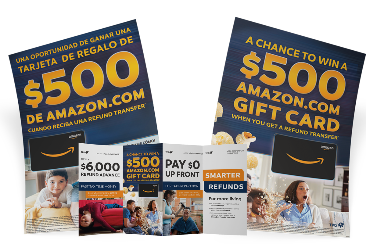 Amazon promotional materials