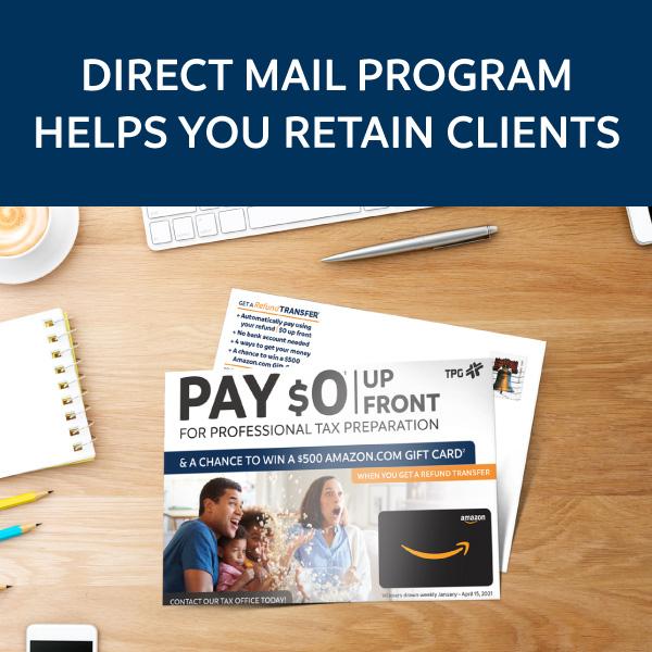 2021 direct mail postcard